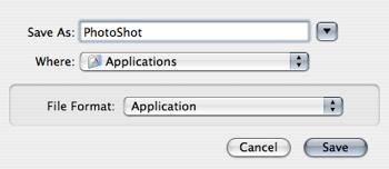 Automator save workflow