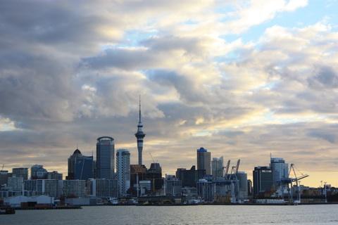 Auckland - New Zealand twilight
