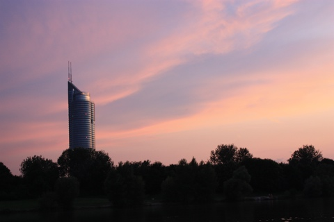 vienna-sunset