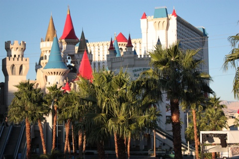Excalibur towers