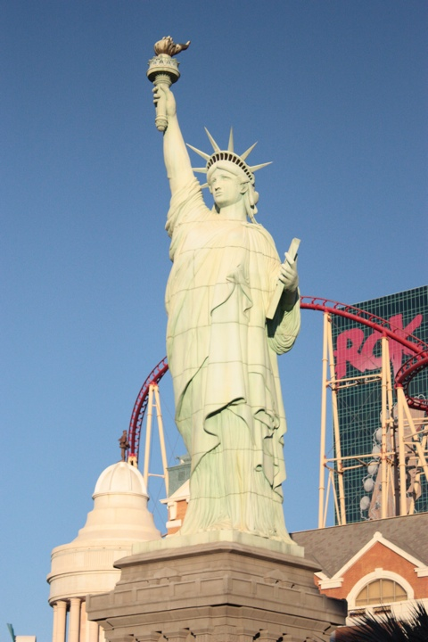 We couldn't miss the Statue Of Liberty, of course.