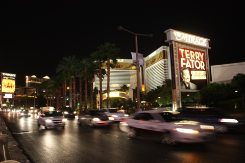 The Strip. By Night.