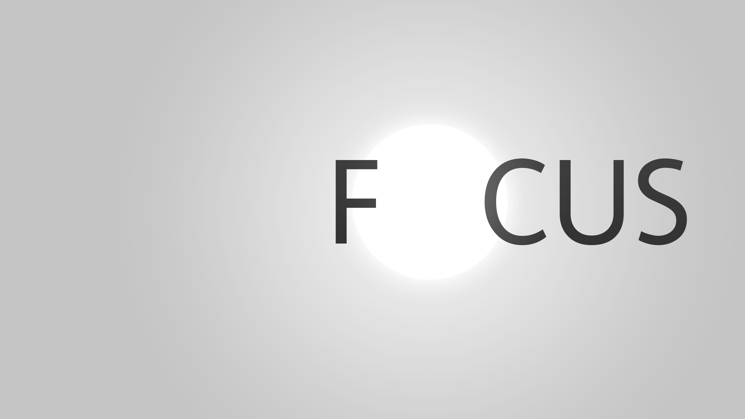 Wallpaper  Focus By KriGH
