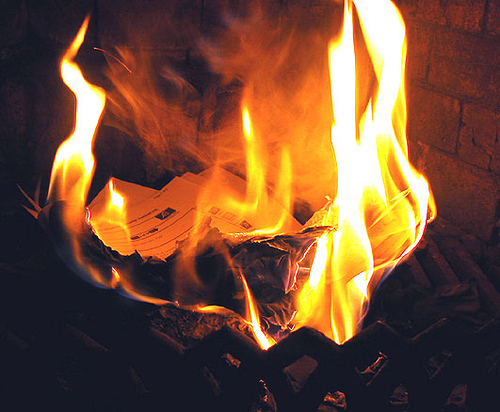 100 Ways To Live A Better Life – 53. Burn Some Old Memories