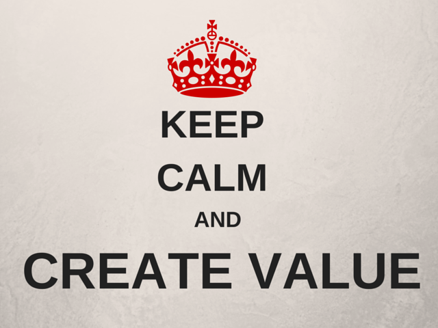Keep CalmAndCreate Value