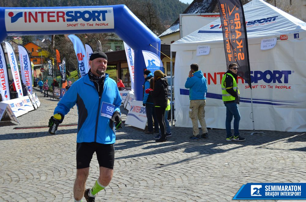 First Race Of 2015 Half Marathon Brasov Dragos Roua
