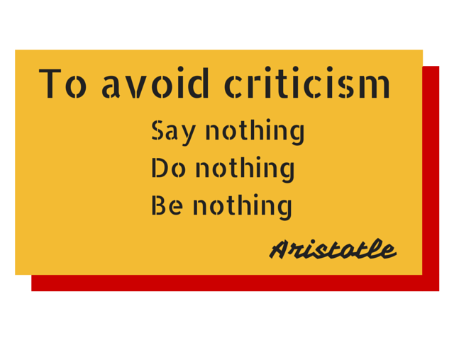 100 Ways To Live A Better Life – 83. Listen To Your Critics