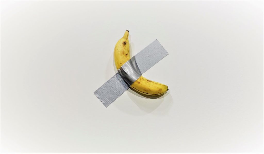 art and bananas