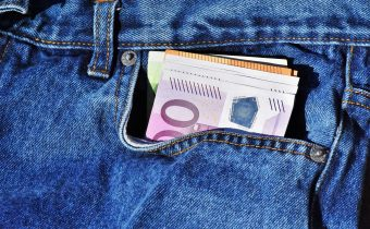 Finding Money In The Back Pocket Of An Old Pair Of Jeans